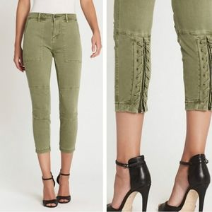 NWT Current Elliot the Westland pant in army